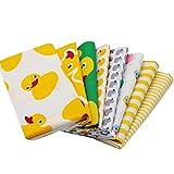 8100% Baumwolle Stoffe Farbige Motiv Cute Duck Muster DIY