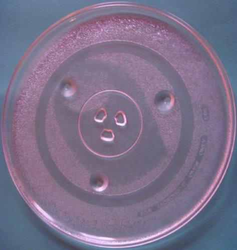 Mikrowellenteller / Drehteller / Glasteller für Mikrowelle # ersetzt AFK Mikrowellenteller # Durchmesser Ø 31,5 cm / 315 mm # Ersatzteller # Ersatzteil für die Mikrowelle # Ersatz-Drehteller # OHNE Drehring # OHNE Drehkreuz # OHNE Mitnehmer