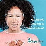 Set de 5 uds. Visera-pantalla facial, protección facial integral anti-salpicaduras, anti-vaho, compa... #3