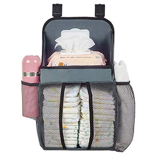 NCBH Bébé Closet Organizer Portable, Berceau Sac de Rangement pour Stuffed Grande capacité de Stockage modèle Clair Fournitures puissants Messy bébé