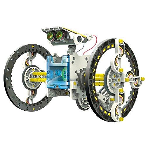 Robot solaire 14 en 1 qui se déplace sur terre et sur l'eau