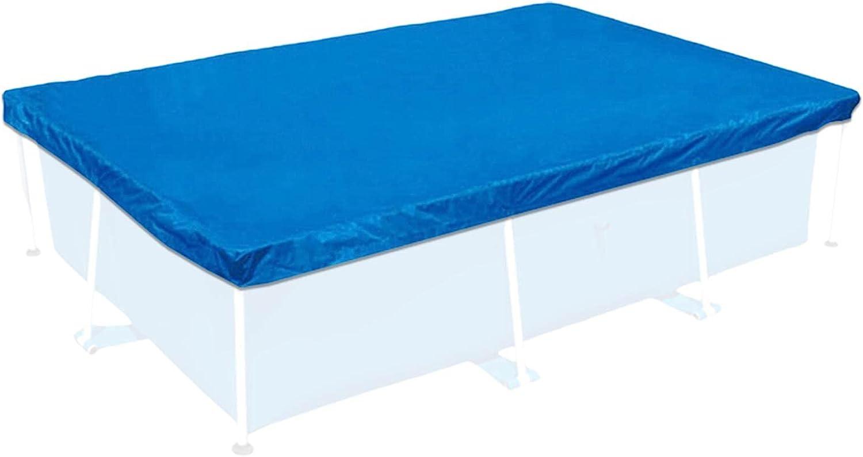 Cobertor para piscinas rectangulares, cubierta / fundas para piscinas desmontables, cubiertas de piscinas verano de Impermeable,Resistente A Los Rayos UV Duradera Antipolvo para Evitar Hojas,4.5x2.2m