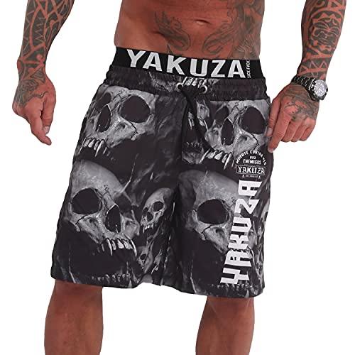 Yakuza Herren Muerte Skull V02 Flex Badeshorts