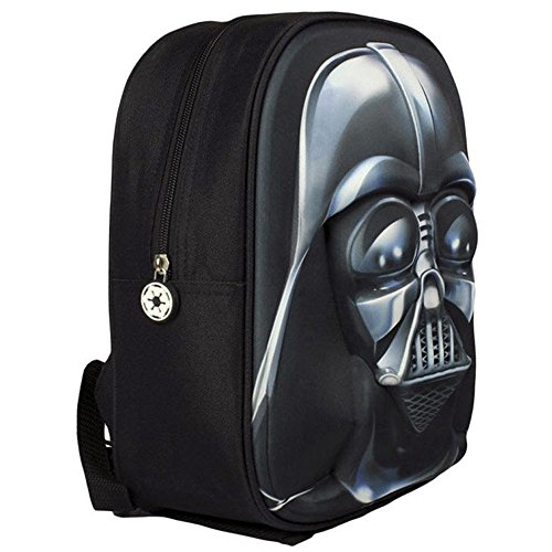 Star Wars Mochila Relieve  Color Negro