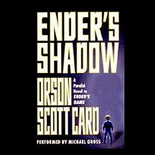 Ender's Shadow audiobook cover art
