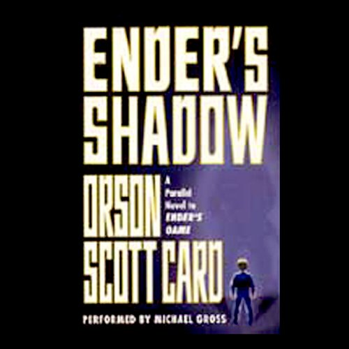 Ender's Shadow audiobook cover art