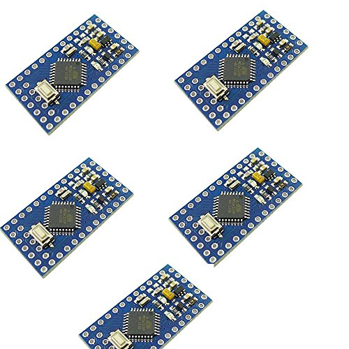 JVJ Pro Mini Module Atmega328 5V 16M for Arduino with ISP Function Compatible Arduino PRO Module for Intelligent Robot Aircraft Car Model
