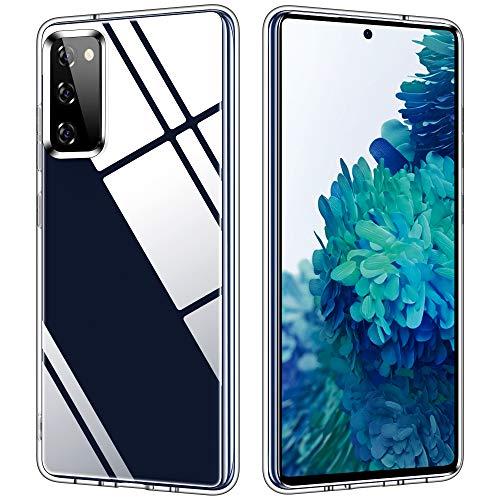 Vakoo Clear Serie Handyhülle für Samsung Galaxy S20 FE Hülle, Durchsichtige - 6.5 Zoll