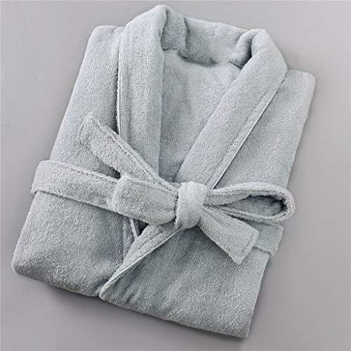 SCDZS Baumwolle Hotel Robe Liebhaber Tuch Tuch Terry Kimono Bademantel Kleidung...