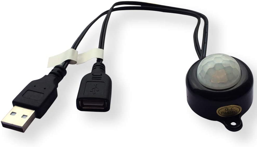 USB 5V DC12-24V 2A PIR Motion Max 45% OFF Swi Mini Sensor Activated Body Arlington Mall