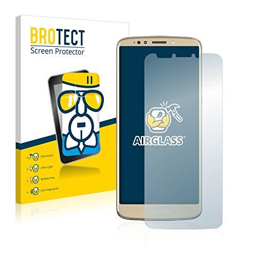 BROTECT Panzerglas Schutzfolie kompatibel mit Motorola Moto E5 Plus - AirGlass, extrem Kratzfest, Anti-Fingerprint, Ultra-transparent