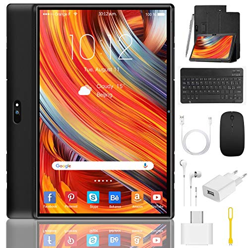 Tablet 10 Pulgadas 4G/WiFi Android 9.0 Pie Ultrar-Rápido Tablets...