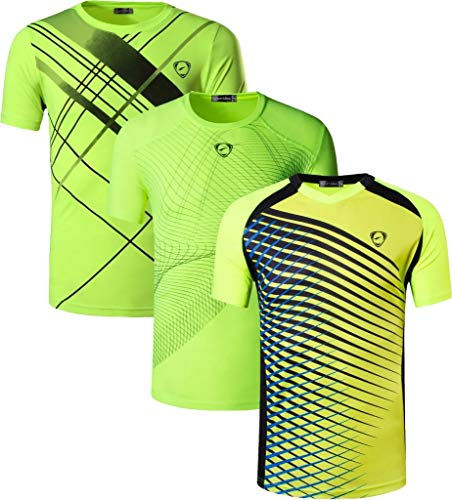 jeansian Boys Dry Fit Active Sport Short Sleeve Breathable Running Tshirt T-Shirt Tee Shirt Top LBS701