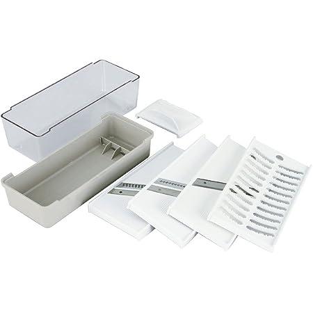 貝印(Kai Corporation) Cookfile 調理器セット 【スライサー ・ 千切り器 ・ ツマ切り器 ・おろし器】 DH-2293