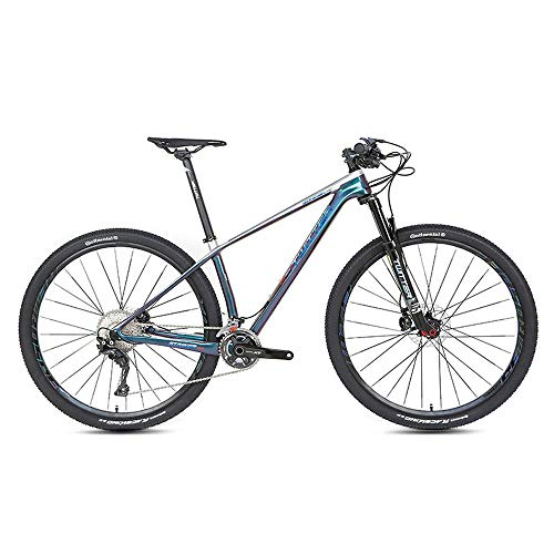 Outdoor-Sport Carbon Carbon Mountainbike, XT27.5 Zoll 29 Zoll 22 Geschwindigkeit 33 Geschwindigkeit Doppelscheibenbremse Erwachsene Männer und Frauen Cross Country Bergsteigen Fahrrad im Freien fahren