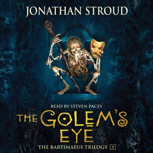 The Golem's Eye audiobook cover art