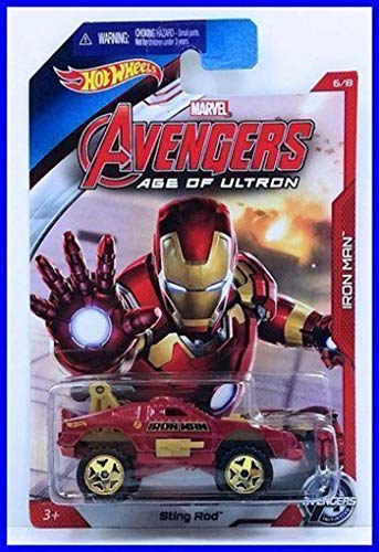 Avengers - Hot Wheels Avengers Véhicule 1 pièce