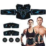 Elobaby Muskelstimulator Abnehmen,EMS Stimulator Muskel Toner Fitness Lifting Gesäß Bauch Toning Gürtel Muskel Trainer Gewichtsverlust Körper Schlankheit Massage