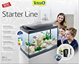 Tetra Aquarium Starter Line LED Fish Tank Complete Set, 80 Litre