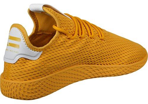 adidas Unisex Adults' Pw Tennis Hu Fitness Shoes, Gold (Doruni/Doruni/Ftwbla 000), 4.5 UK