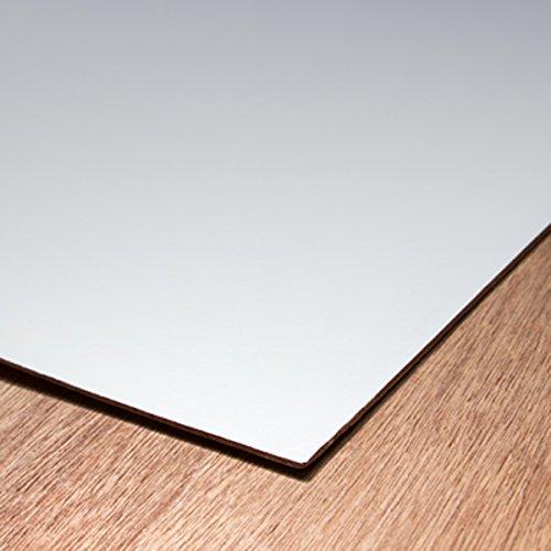 川島材木店 事業者様向け 白色ポリベニヤ 1830x920mm厚み2.5mm 耐水合板 F4