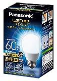 パナソニック 一般電球形 LED電球 E26 全配光 60W相当 昼光色 LDA7DGZ60ESW2