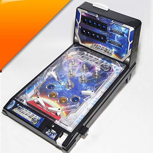 CMJM Maquina De Pinball Mini Pinball Machine para Niños Pinball Toy Los Niños Juegan Pinball Game Super Pinball Game Parent Retro Arcade Tamaño: 42 × 24.5 × 27cm