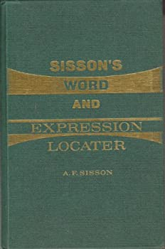 Hardcover Sisson's Word and Expression Locater Book