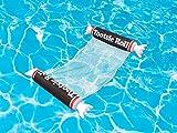 Playtek Tootsie Roll Hammock Pool Float, Brown