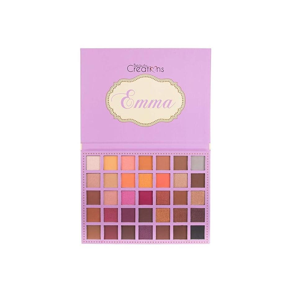 天窓元気な要件BEAUTY CREATIONS 35 Color Eyeshadow Palette - Emma (並行輸入品)