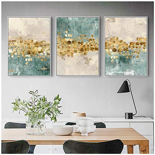 Jykrjcc Nordic Art Dancing Star Leinwand Poster Minimalistische Malerei Abstrakte Farbe Wandbild Druck Modern Home Living Room Home Decor (50X70Cmx3Pcs) Ohne Rahmen