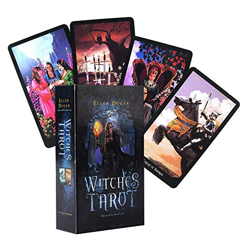 DOLS 78 Cards Witches Tarot Cards, Table Card Games, Poker Vintage Game, Tarot Cards, Future Telling Game, Board Game