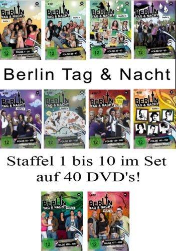 Berlin - Tag & Nacht, Vols. 1-10 Set: Folge 1-195 (40 DVDs)