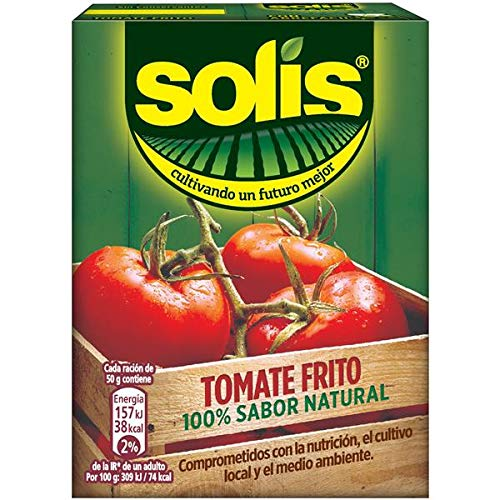 SOLIS Tomate Frito Brick - Tomate sin gluten - 350 g