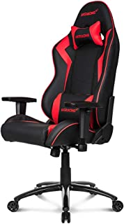 AKRacing Core Series SX Gaming Chair with High Backrest, Recliner, Swivel, Tilt, Rocker and Seat Height Adjustment Mechanisms with 5/10 Warranty - Red