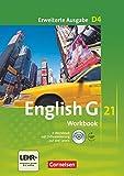 English G 21 - Erweiterte Ausgabe D / Band 4: 8. Schuljahr - Workbook mit Audio-Materialien: Workbook mit CD-ROM (e-Workbook) und Audios online