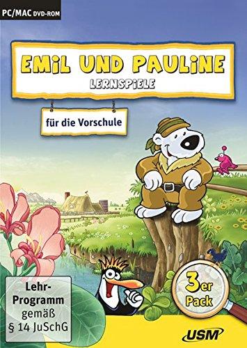 Emil und Pauline 3 in 1 Bundle - Lernspiele für die Vorschule: Emil und Pauline in der Stadt,... auf dem Bauernhof 2.0,... auf dem Land