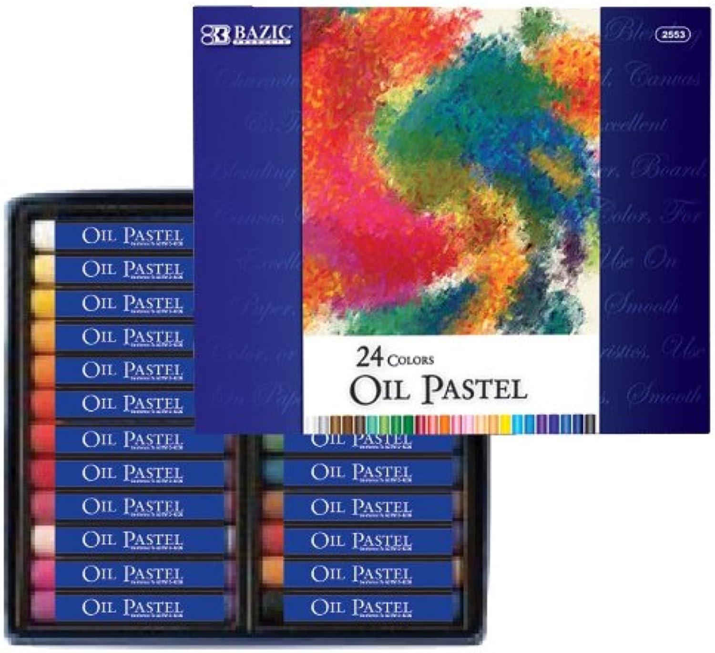 Bazic 24 Farbe Öl-Pastellkreiden, Fall von 12 (2553–12) B008DBRYF2  | Reparieren