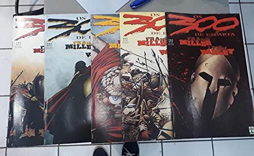 Os 300 de Esparta - Volumes 1 ao 5 - COMPLETO