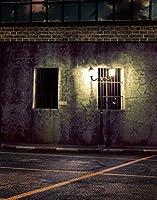 HiYash 10x12ft 暗い夜のストリートビューボケライト建物のテーマ誕生日パーティー赤ちゃんの誕生日の装飾バナー家の装飾と美しい記憶記録ビニール素材スタジオ小道具