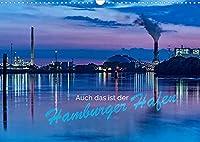 Auch das ist der Hamburger Hafen (Wandkalender 2022 DIN A3 quer): Unmittelbare Tages-, Nacht- und Jahreszeiten am Hafenwasser (Monatskalender, 14 Seiten )