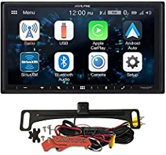 "BUNDLE INCLUDES Alpine Receiver, Voxx HD Wide Angle Backup Camera, and Car Toys Keychain. Receiver is less than 3"" deep. Compatible with Android Auto or Apple Car Play. Your Alpine Receiver is the safest way to integrate your phone with your stereo w..."