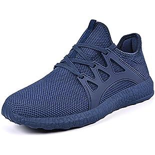 QANSI Mens Trainers Athletic Walking Running Gym Shoes Sporting Shoe (8 UK, Blue):Kostenlosefilme