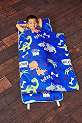 1. EVERYDAY KIDS Roarin' Dinos Nap Mat with Removable Pillow