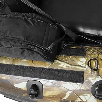 Belly Boot Taschen mit Klettverschluss
