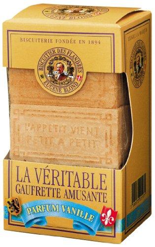 Gaufrettes double fourrage parfum vanille