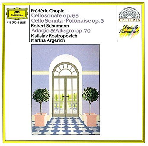 Sonata Per Piano E Violoncello In Sol Minore Op.65,Polonaise Op.3 In Do Maggiore