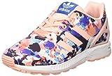 adidas Jungen und Mädchen ZX Flux Sneakers, Pink (Haze Coral/Haze Coral/FTWR White), 39 1/3 EU