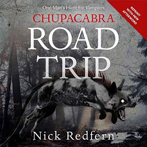 Chupacabra Road Trip audiobook cover art