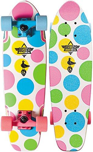 Dusters Bird Dots Skateboard completo multicolore 25'